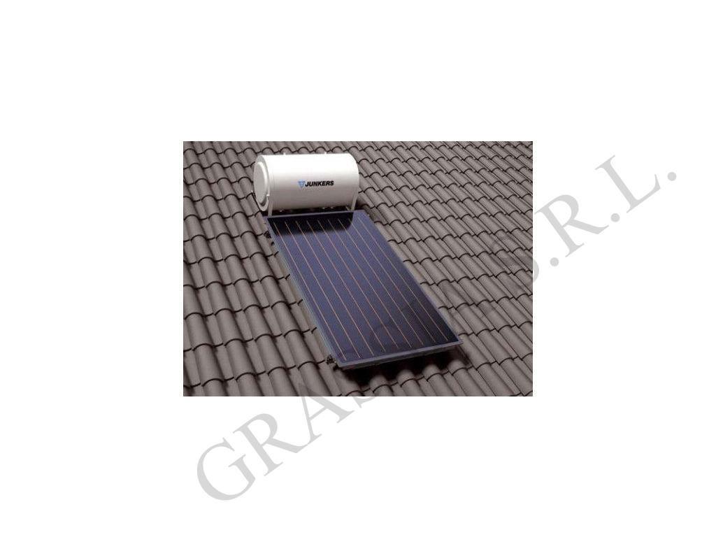 Pannello Solare Unical Titanium : Collettore piano solare junkers grassia srl