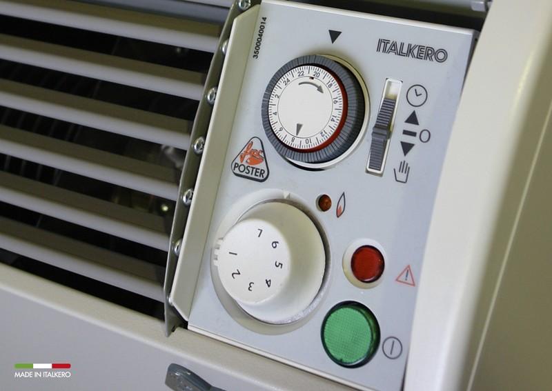 Termoconvettore a gas poster pe italkero kit scarico for Stufe italkero
