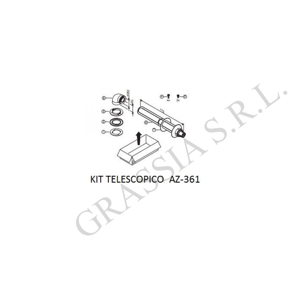 Kit telescopico AZ361