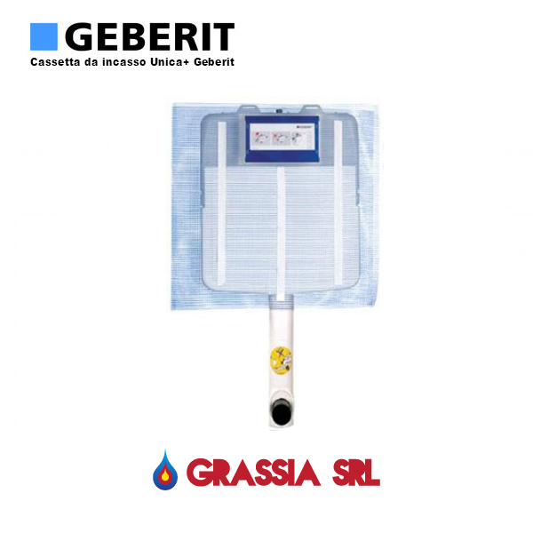 Cassetta Da Incasso Wc Geberit Sigma 8 Grassia Srl