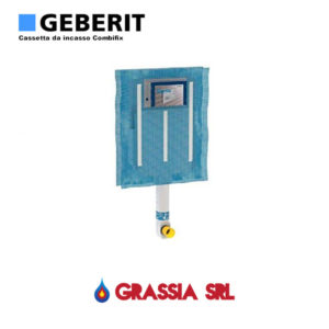 Cassetta da incasso Wc Geberit SIGMA 8