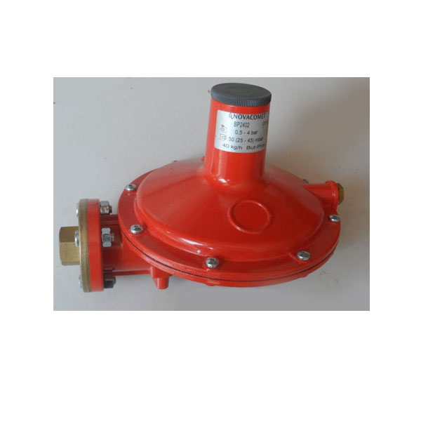 Regolatore bassa pressione gas portata 40kg h grassia srl - Portata pressione ...