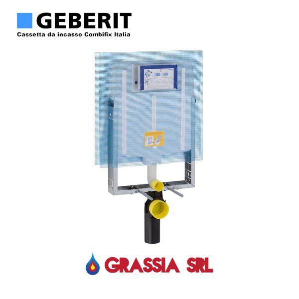 Cassetta da incasso combifix italia geberit wc sospeso for Geberit italia
