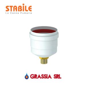 Tappo di scarico condensa stabile sistema sdoppiato 10076