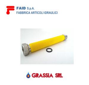 Tubo flessibile acciaio estensibile per gas