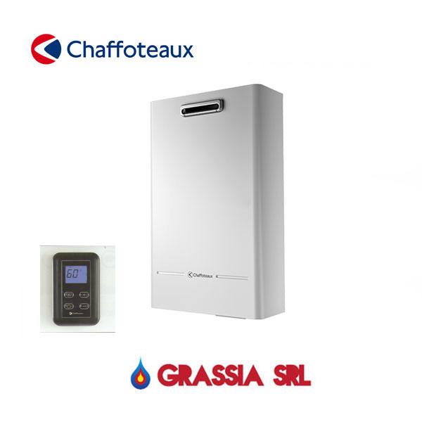Scaldabagno per esterno a metano fluendo avenir outdoor chaffoteaux grassia srl - Scaldabagno a gas per esterno ...