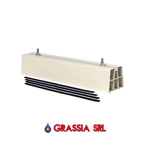 2 supporti a pavimento 450 mm per condizionatori