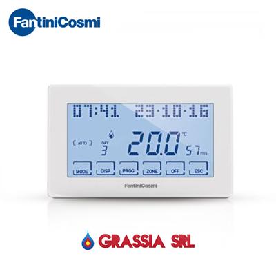 Cronotermostato ch180rf wireless fantini cosmi grassia srl for Cronotermostato fantini cosmi