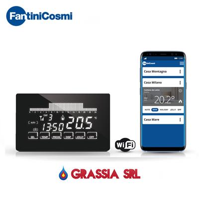 Cronotermostato CH193 wi-fi Fantini Cosmi