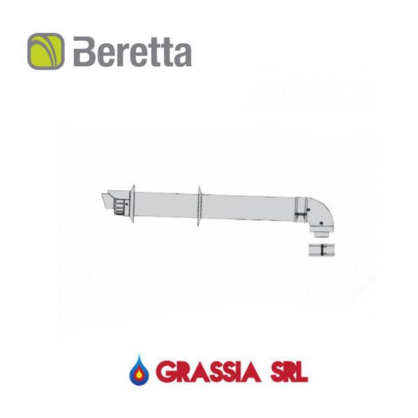Kit terminale orizzontale Beretta ∅ 60/100