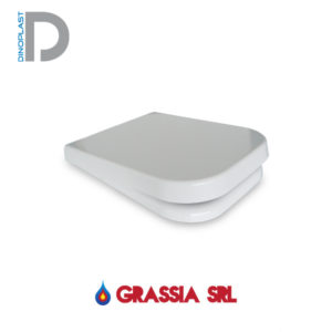 coprisedile wc square Dino Plast