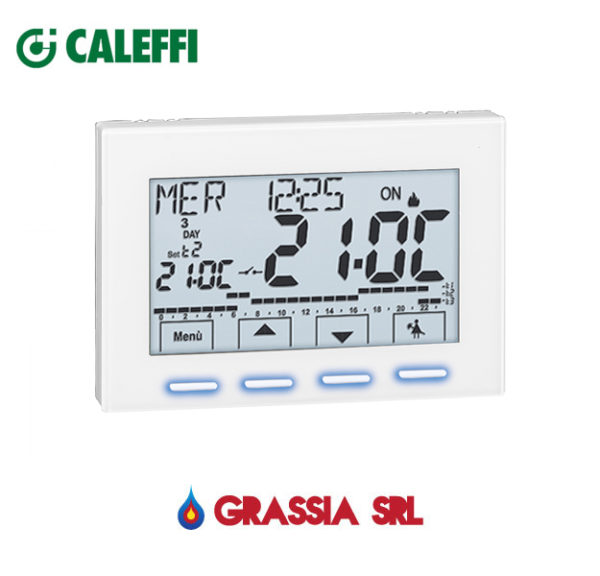 Cronotermostato ambiente digitale Caleffi 230 V