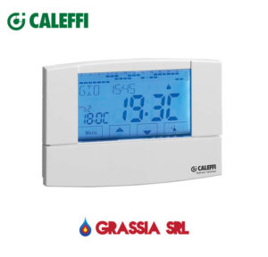 Cronotermostato digitale touchscreen Caleffi