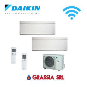 Condizionatore climatizzatore Daikin Stylish 9000+9000 Dual split wifi