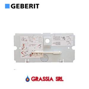 GEBERIT Placca di protezione per pulsante monotasto