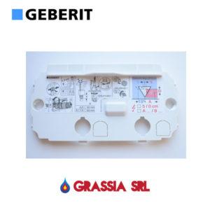 Placca di protezione Tipo70 Omega12 243.089.00.1 – Geberit