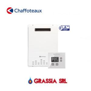 Scaldabagno per esterno a GPL Avenir Plus Lnx Outdoor Chaffoteaux