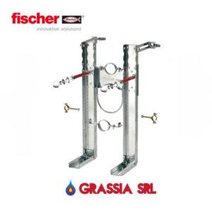 Sistema di fissaggio per sospesi per vasi e bidet fischer