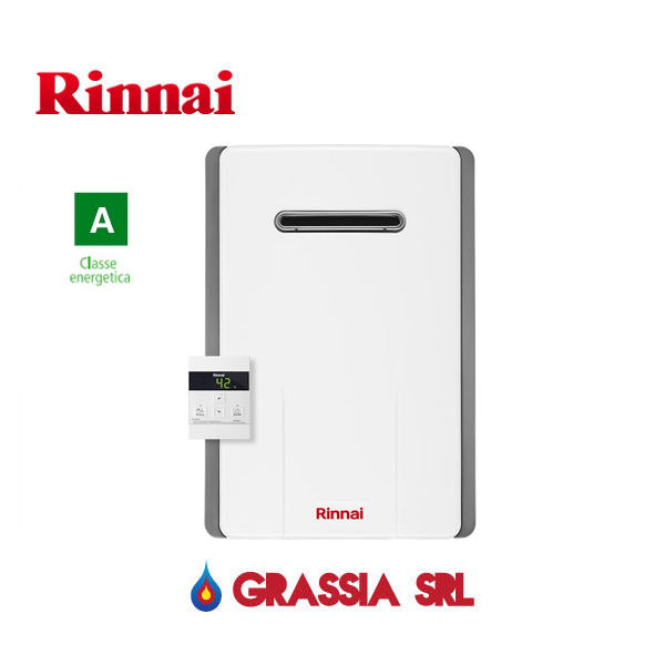 Scaldabagno a gas GPL Infinity 14 Esterno Rinnai