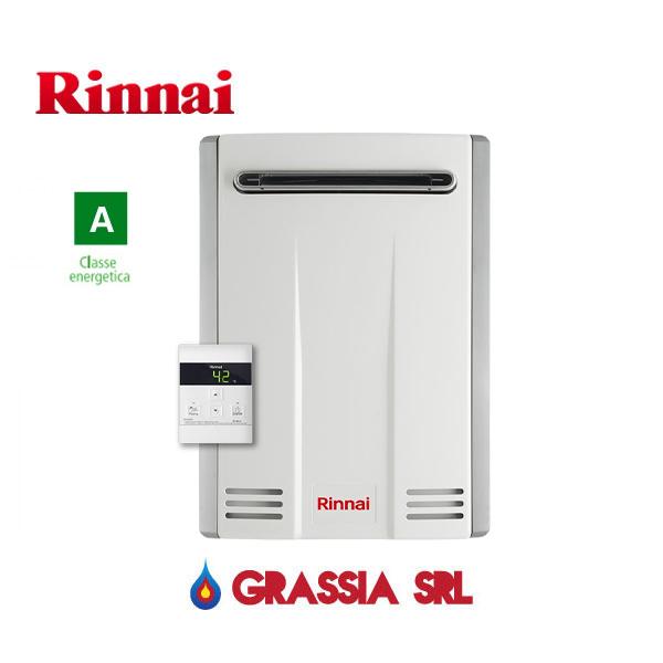 Scaldabagno a gas GPL Infinity 20 Esterno Rinnai