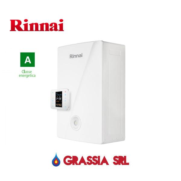 Caldaia a condensazione Momiji Rinnai con cronotermostato cod.REB-KAI2024FF