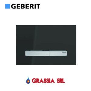 Placca di comando Sigma 50 Nero Raal 9005 Geberit 115.788.DW.2