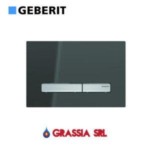 Placca di comando Sigma 50 Vetro Fumè Geberit 115.788.SD.2