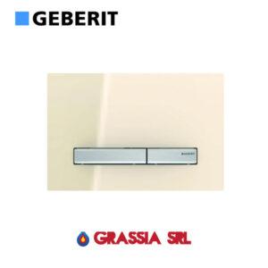 Placca di comando Sigma 50 vetro sabbia Geberit 115.788.TG.2