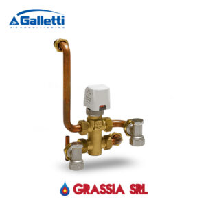 Valvola a 3 vie + kit per Art-U Galletti