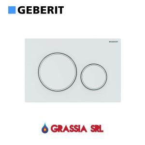 Placca di comando Sigma 20 Geberit 115.882.01.1 Bianco opaco / bianco / bianco opaco