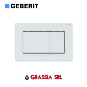 Placca di comando Sigma 30 Geberit 115.883.01.1 Bianco opaco / bianco / bianco opaco