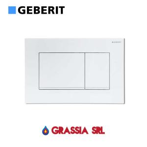 Placca di comando Sigma 30 Geberit 115.883.11.1 Bianco / bianco opaco / bianco