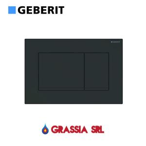 Placca di comando Sigma 30 Geberit 115.883.16.1 Nero opaco / nero / nero opaco