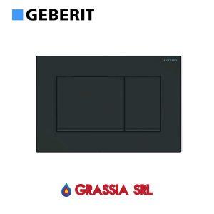 Placca di comando Sigma 30 Geberit 115.883.DW.1 Nero / nero opaco / nero